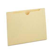 Recycled End Tab Flat File Jacket, 50/Box
