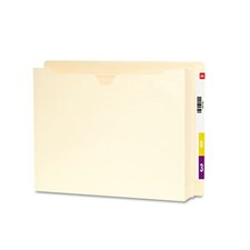 "End Tab File Jacket with 2"" Accordion Expansion, 25/Box"