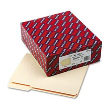 Reinforced Tab Manila File Folder, 100/Box
