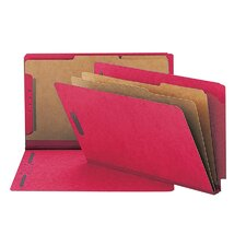 "Classification Folder, 2""Expansion, Legal, 10 per Box, Various Colors"