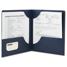 <strong>Smead Manufacturing Company</strong> Lockit Two-Pocket Folder, 25/Box