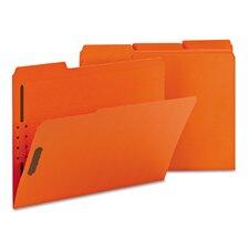 Folders, Two Fasteners, 50/Box