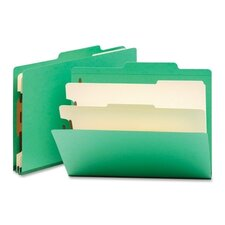 Classification Top Tab Folders, 10/Box