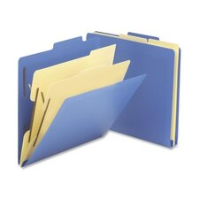 "2-1/2"" Expansion Heavy-Duty Poly Classification Folders, 10/Box"