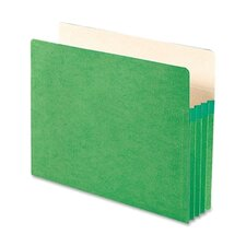 3.5 Inch Accordion Expansion Colored File Pocket, Straight Tab, Letter