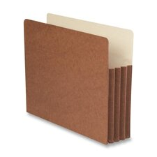 "<strong>Smead Manufacturing Company</strong> 3.5"" Accordion Expansion Pocket with Tyvek, Straight, 10/Box"