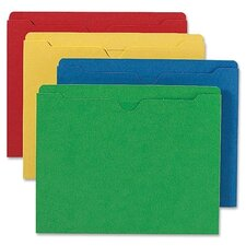 File Jackets with Double-Ply Tab, 100/Box