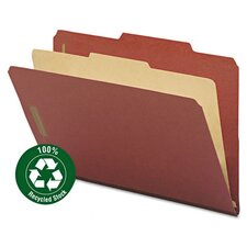 Pressboard Classification Folder (10 Pack)