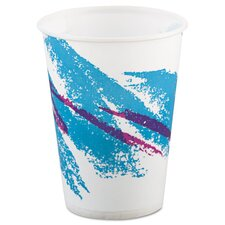 Jazz 9 oz. Waxed Paper Cold Cups (Set of 2000)