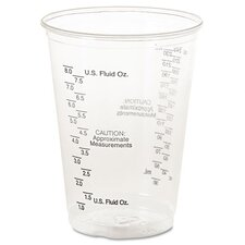 Graduated 10 oz. Medical Plastic Cup (Set of 1000)