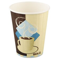 Tuscan Cafe Insulated 12 oz. Paper Hot Cups (Set of 600)