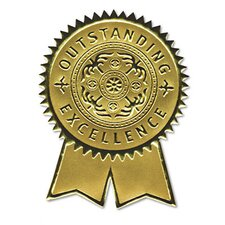 <strong>Southworth Company</strong> Certificate Seals Embossed Foil, 12/Pack