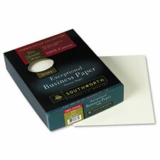 <strong>Southworth Company</strong> 100% Cotton Business Paper, 250/Box