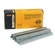 "<strong>Stanley Bostitch</strong> Premium B8 Staples, Chsl Pnt, Use In B8C Line, 1/2""W, 1/4""L"