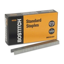 Full Strip Standard Chisel Point Staples, 5,000/Box