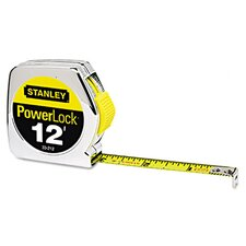 <strong>Stanley Bostitch</strong> Metal 12' PowerLock Tape Measure