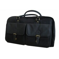 "20.5"" Leather Sleek Travel Duffel"