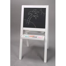 Double Sided Art Easel in White