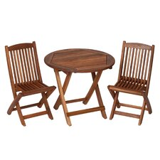 Kids' 3 Piece Picnic Table and Chair Set