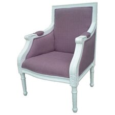 Elegant Square Children's Arm Chair