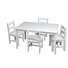<strong>Gift Mark</strong> Kids 5 Piece Table and Chair Set