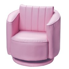 Youth Upholstered 360 Degree Swivel Chair
