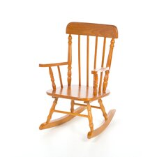 New Style Natural Spindle Rocker