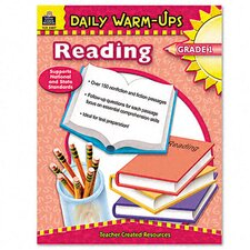 Daily Warm-Ups: Reading, Grade 1, Paperback, 176 Pages