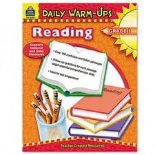 Daily Warm-Ups: Reading, Grade 3, Paperback, 176 Pages