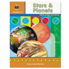 Super Science Activities/Stars Planets, Grade 2-5, 48 pages