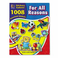 Sticker Book for All Reasons, 1,008/Pack