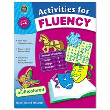 Activities for Fluency Grades 3 To 4, 144 Pages