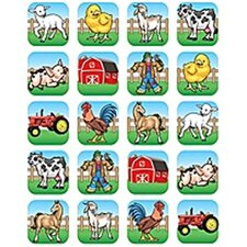 Farm Stickers 120 Stks
