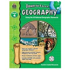 Down To Earth Geography Gr4 Bk W/cd