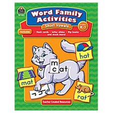 Word Family Activities Short Vowels