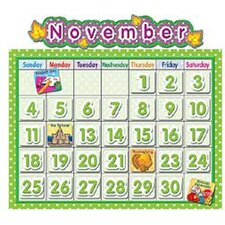 Polka Dot School Calendar Bb