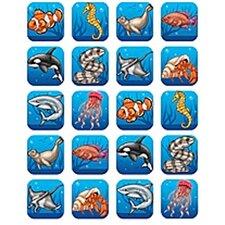 Ocean Life Stickers 120 Stks