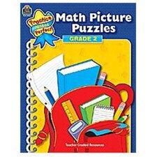Math Picture Puzzles Gr 2