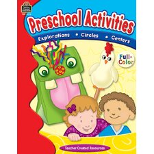 <strong>Teacher Created Resources</strong> Preschool Activities Book