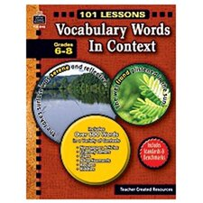 101 Lessons Vocabulary Words In