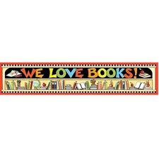 Me We Love Books Banner