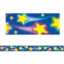 Shooting Stars Straight Border Trim