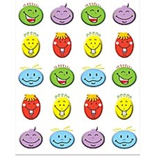 Silly Smiles Stickers 120 Stks