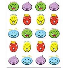Silly Smiles Stickers 120 Stks