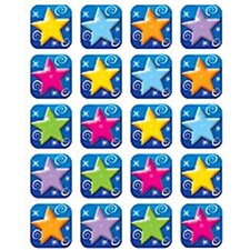 Colorful Stars Stickers 120 Stks