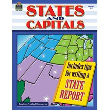 States And Capitals Gr 4-5