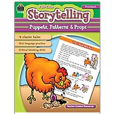 <strong>Teacher Created Resources</strong> Storytelling Puppets Patterns Props