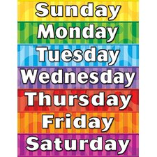 <strong>Teacher Created Resources</strong> Days Of The Week Chart