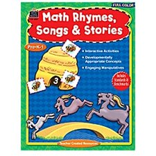 Full-color Math Rhymes Songs &