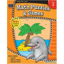 <strong>Teacher Created Resources</strong> Ready Set Lrn Math Puzzles & Games